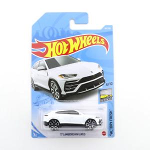 White Hot Wheels '17 Lamborghini Urus Kids Model Diecast Toy Cars Factory Fresh
