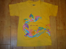 Girl Kid Tees Yellow Dolphins Shirt 2 3 4 NWOT
