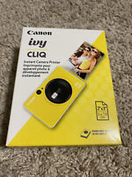 NEW Canon IVY CLIQ Instant Camera Printer Yellow FAST SHIP 🔥 Sealed