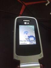 LG LX400 - Burgundy (Sprint) Cellular Phone