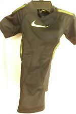 Nike Boys Pro Combat Dri Fit Compression Padded Shirt Size Small Free Shipping