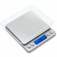 1x Balance de Précision 0.01g - 500g Pèse de Poche Scale Bijoux Cuisine