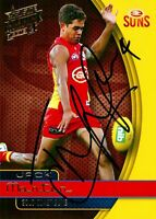 ✺Signed✺ 2015 GOLD COAST SUNS AFL Card JACK MARTIN
