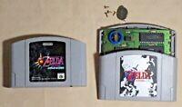 The Legend of Zelda 64 Ocarina of time Majora Nintendo N64 tested game Japan
