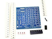 SMD Soldering Practice Learning Kit - Solder Wire included