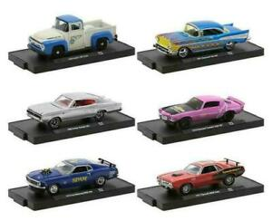 1:64 M2-Drivers 6-Cars Set #11228 by Raceface-Modelcars