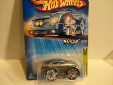 2005 Hot Wheels #31 Silver Chrysler 300C w/Bling Wheels Unpainted Fog Lights