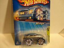 2005 Hot Wheels #31 Silver Chrysler 300C w/Bling Wheels Unpainted Fog Lights