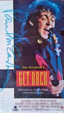 PAUL McCARTNEY - GET BACK - VESTRON VIDEO - VHS TAPE - 1991 - STILL SEALED