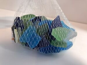 Decorative Sea Glass Gems Tropical Blue Filler Floral Craft Beach Ocean New
