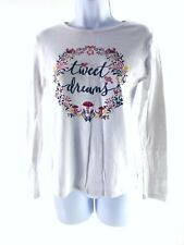 NEW  RRP £35 Fat Face Wildflower Embroidered T Shirt*