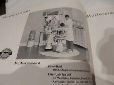 ZELLER dental trade catalog  1934  NUMBERED  WITH 1936 PRICE LIST  DENTIST