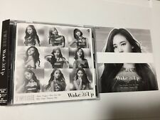 TWICE WAKE ME UP JAPAN Fan Club LIMITED FC ONCE CD+9 Changing cover