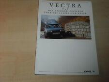 34458) Opel Vectra A 4x4 Prospekt 1991