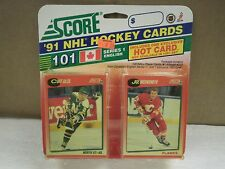 OLDER HOCKEY CARDS SCORE 1991- CANADIAN ENGLISH SERIES 1- CURT GILES- NEW- L136