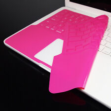 FULL SL PINK Keyboard Skin Cover for Macbook White 13""