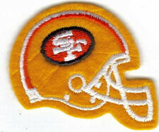 SAN FRANCISCO 49ERS HELMET EMBROIDERED PATCH !