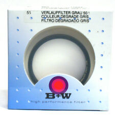 B+W 55mm #501 Grad. Gray 50% Filter *NEW*