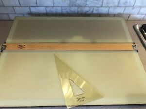 Preowned Vintage Staedtler Mars Parallel Straightedge Drawing Board, 999 2026PE