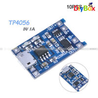 [10PCS] 5V 1A USB 18650 Lithium Battery Charging Board Module Protection TP4056