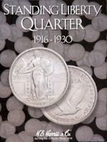 1 Harris Coin Folder 2687 Collection For Standing Liberty Quarters 1916-1930 NEW