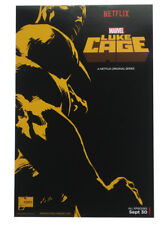 Luke Cage SDCC Comic Con Exclusive Promo Poster 2016 Joe Quesada Marvel Netflix