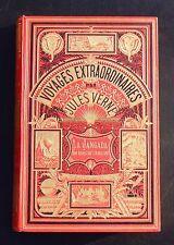 Jules VERNE. La Jangada. 800 lieues...HETZEL 1881. Cartonnage aux 2 éléphants