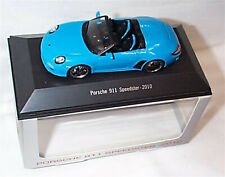 Porsche 911 Speedster 2010 Blue 1:43 Scale New Boxed Porsche 911 Collection