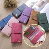 Women Purses Ladies Leather Wallet Clutch Long Card Holder Case Purse Handbag go