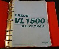 1998 SUZUKI MOTORCYCLE VL1500 SERVICE MANUAL IN BINDER 99500-39160-03E  (215)