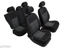 Sattler Maß Sitzbezüge Schonbezüge Autositzbezüge Schwarz Passgenau für Mercedes