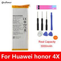 QrxPower Battery 3000mAh HB4242B4EBW For Huawei honor 6 honor 4X H60-L01 H60-L02