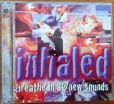 INHALED -  Various Artists CD x 2 1997 EMI 5553392 Heavy Metal Rock Australia