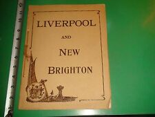 JD075 Vintage Souvenir Photo Album of Liverpool and New Brighton