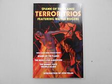 SIGNED Spawn of the Flames - Terror Trios editor John Pelan! (2012, Altus)! RARE