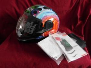 AGV  Sunjet MDS Helmet E2205 Brainstorm Black XL