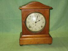 Seth Thomas oak wood shelf mantel clock with movement # 89