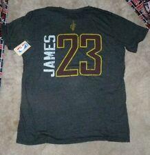 NEW NBA LeBron James Cleveland Cavaliers T Shirt Men 2XL (measures small)l NWT
