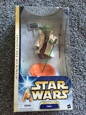 "Star Wars YODA 12"" scale figure NIB Sealed VHTF AOTC Saga Gold VERY RARE 3"" 4"""
