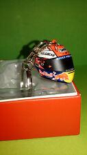 porte clé métal casque shoei Marquez moto gp