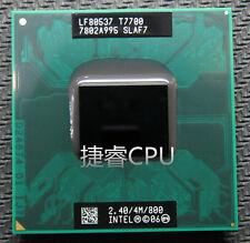 Intel Core 2 Duo T7700 SLAF7 2.4G 4M 800MHz Socket P CPU Processor