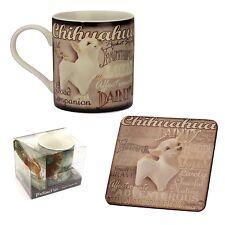 My Pedigree Pals 8302 Mug and Coaster Chihuahua Dog