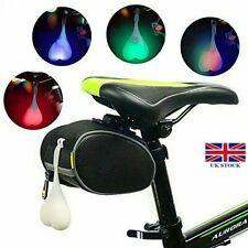 Bike Ball Lights Bicycle LED Back Rear Tail Light Cycling Heart Ball Egg Lamp UK