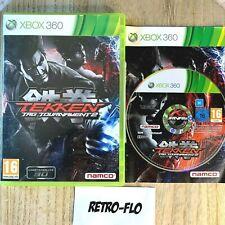 Tekken Tag Tournament 2 - Jeu Xbox 360 Complet TBE