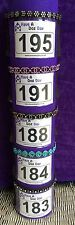 Dog Show Exhibitor Ring Number Holder Armband - SILVER DAISY Bling Sparkles