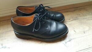 DR MARTENS Smooth Genuine Leather Shoes Unisex UK 4 EU 37