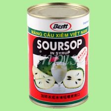 SOURSOP IN SYRUP 12 CANS x 15oz, GUANABANA, GRAVIOLA