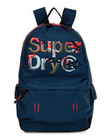 NWT SUPERDRY AUTHENTIC TRAVEL SCHOOL MEN'S MOTION MONTANA POLYESTER BACKPACK