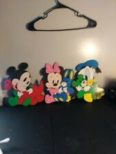 Disney Baby Thick Card Board Wall Hangings Vintage