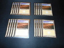 20 Basic Land #331 - SAME ART - Plains - Odyssey - MP-NM - Magic MTG FTG